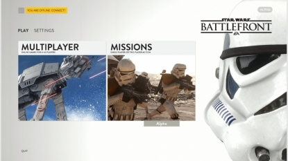 Star Wars: Battlefront gameplay videos and info leak from closed alpha