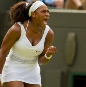 Straight-set wins for top-ranked Djokovic, Williams on Day 1
