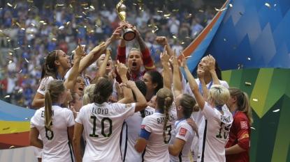U.S.! U.S.! Beyonce celebrated America's World Cup win with a custom jersey