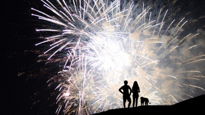 Veterans' signs: Be courteous when setting off fireworks
