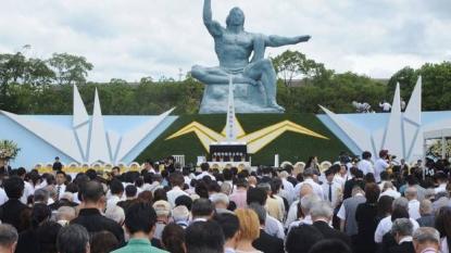 Abe vows nuclear free Japan on Nagasaki anniversary