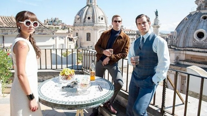Armie Hammer & Henry Cavill Chat New Spy Film MAN FROM UNCLE