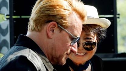 John Lennon honoured with tapestry