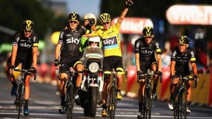Britain's Froome wins 2nd Tour de France