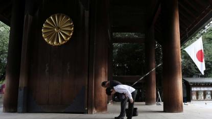 China criticizes Japan leader Abe's World War II statement