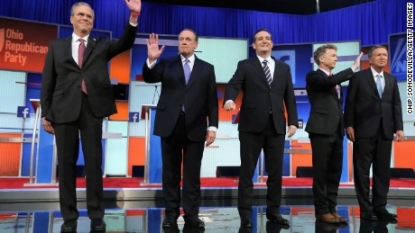 Christie-Paul debate exchange top Facebook social moment