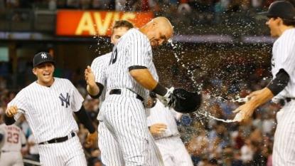 Carlos Beltran Set A Major League Baseball Record During Monday's Win