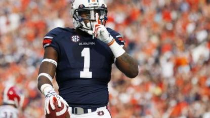 Auburn receiver D'haquille Williams returns to practice