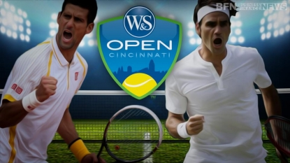 Djokovic faces Federer in finals; Serena Williams there, too