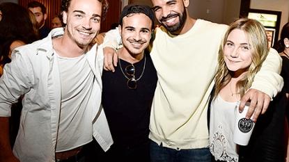 "Drake Reunites With ""Degrassi"" Cast"