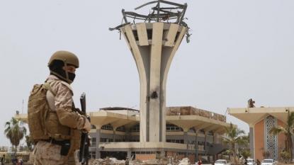 Exiled Yemeni PM Bahah visits Aden