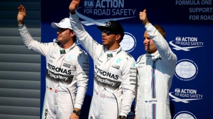 F1: Rosberg annoyed at himself over start