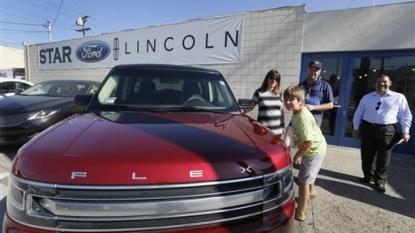 Ford U.S. Sales rise 4.9%