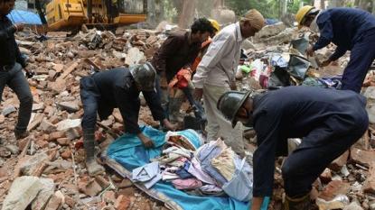Six killed in Thane building crash