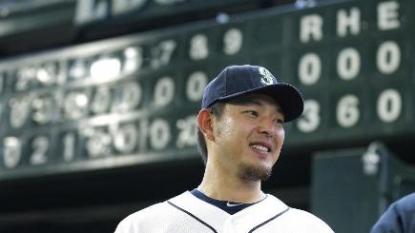 Hisashi Iwakuma no-hits the Baltimore Orioles