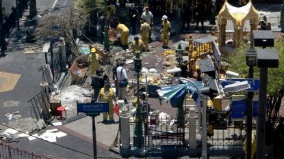 Thailand attacks: Footage of blast at Bangkok pier