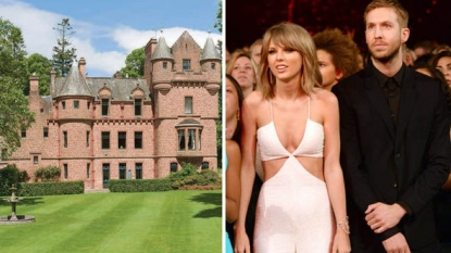 Taylor Swift eyeing $4.6m castle to live near beau Calvin Harris