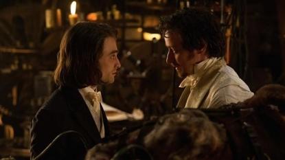 James McAvoy and Daniel Radcliffe's Victor Frankenstein gets trailer
