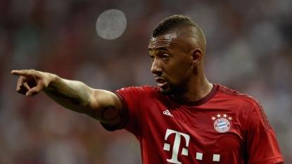 Douglas Costa scores on his Bundesliga début for Bayern Munich