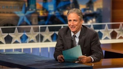 Jon Stewart's 'Daily Show' Farewell: Watch Stephen Colbert and Bruce