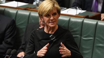 Julie Bishop says Australia is seeking legal advice on Syria strikes