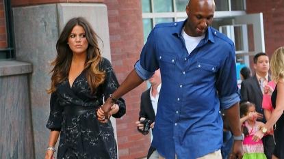 Lamar Odom Confronts Khloe Kardashian Outside SoulCycle