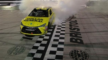 Kyle Larson: Leads Opening Bristol Practice