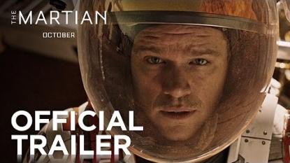 Launch trailer for Ridley Scott's The Martian
