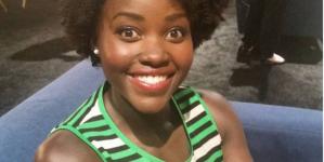Lupita Nyong'o debuts longer hair at Disney expo