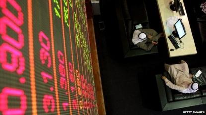 Middle East stock markets plummet
