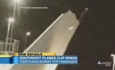 Minor Collision Between Wing Tips of Two Airplanes at Oakland worldwide