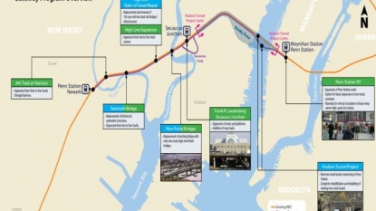 Officials promise to work together on Hudson River tunnels
