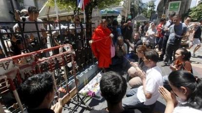 Thai police release sketch of Bangkok bomb suspect
