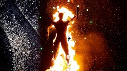Stinkbugs invade Burning Man festival