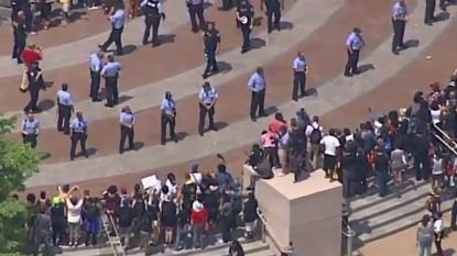 Nearly 2 Dozen Arrests at Ferguson Protest
