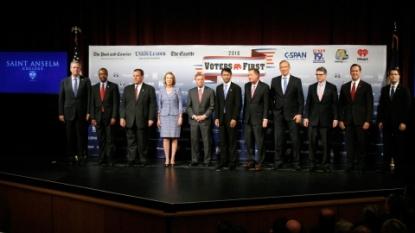 Republican candidates prepare for presidential debate
