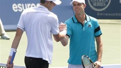 Querrey beats Isner in 1st-round match in Cincinnati