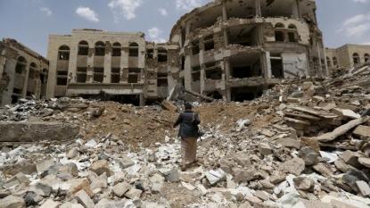 Saudi-led air strikes on Yemen's Taiz kill 43