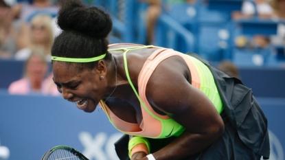 Serena Williams wins Cincinnati opener in straight sets