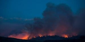 Smoke starting to lift over Washington fires