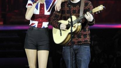 Taylor Swift Calvin Harris Armani Underwear Ad 2015: TS Says 'No'