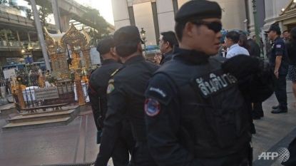 The Latest on Bangkok: Broken security cameras hinder probe