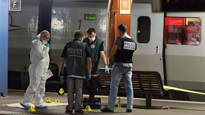 Three Americans help subdue gunman on high-speed train to Paris