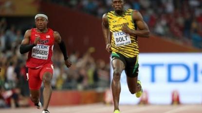 Gatlin, Bolt through to 100m final