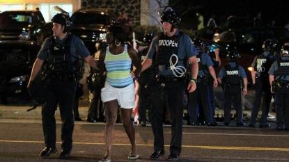 Video shows Ferguson suspect with gun