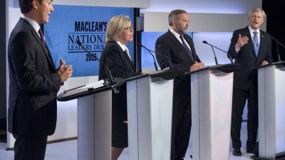Voters react to Federal Leaders Debate
