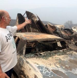 Washington Fires Burn Over 400K Acres