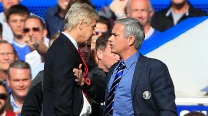 Wenger hits back at Jose
