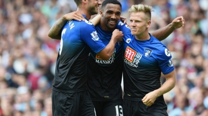 Wilson hat trick as Bournemouth edges West Ham 4-3