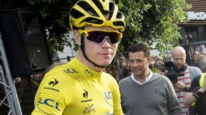 British Cyclist Froome Wins Second Tour de France